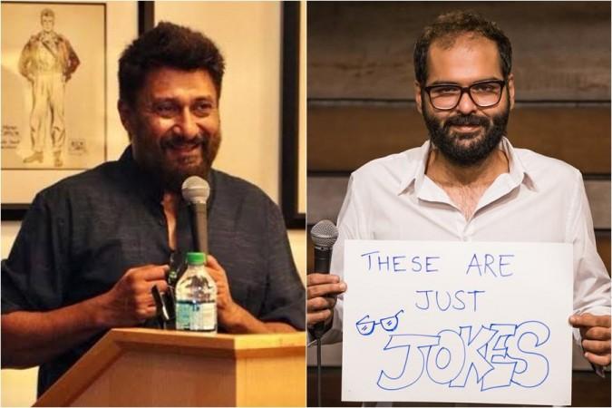 Vivek Ranjan Agnihotri and Kunal Kamra