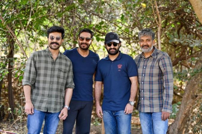 RRR movie team
