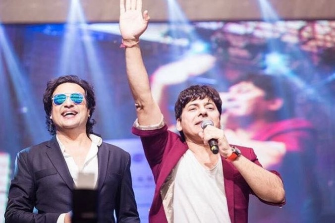 Krushna Abhishek and Sudesh Lehri