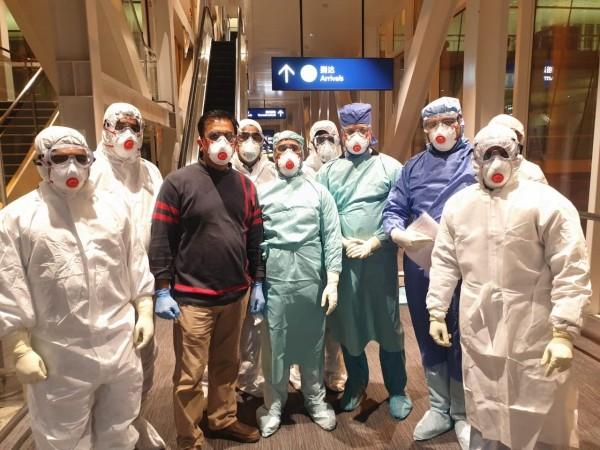 Doctors from the Ram Manohar Lohia hospital