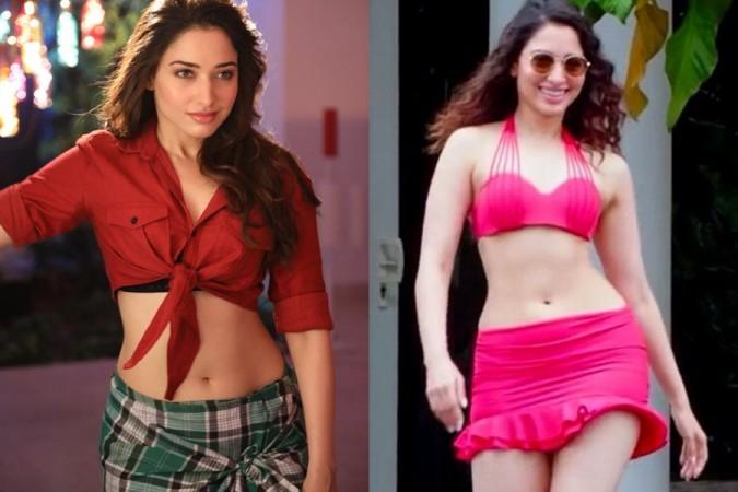 Tamannaah Bhatia Bikini
