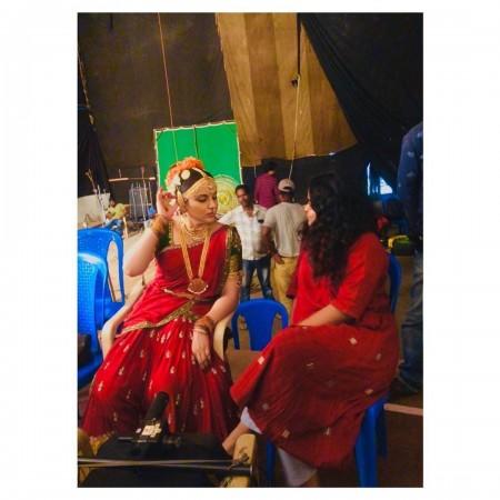 Kangana Ranaut with Ashwiny Tiwari