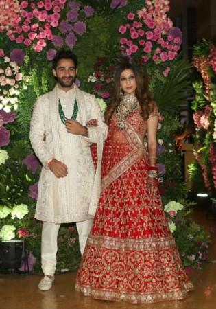 Armaan Jain with Anissa