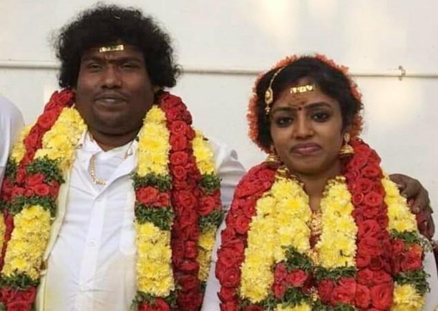 "Image result for yogi babu marriage"""