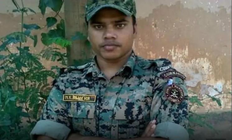 Manoj Kumar Behra, Pulwama attack martyr.