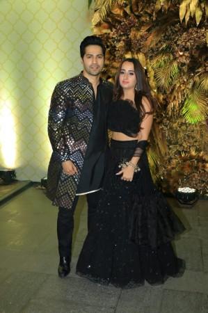 Varun Dhawan and Natasha