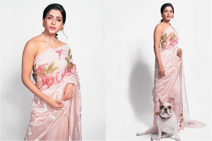 Samantha Akkineni sets a trend in film industry with Jaanu-printed saree