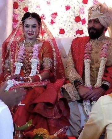 Kamya Panjabi marriage