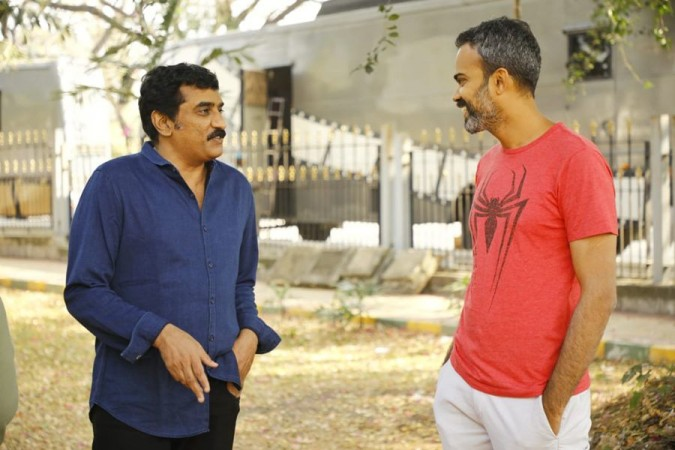 Rao Ramesh and Prashanth Neel on KGF 2 set