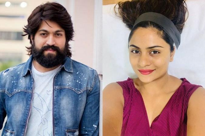 Yash and Deepika Das