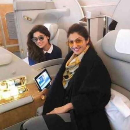 Shilpa Shetty and Raj Kundra's private jet