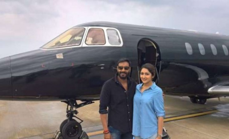 Ajay Devgn's private jet