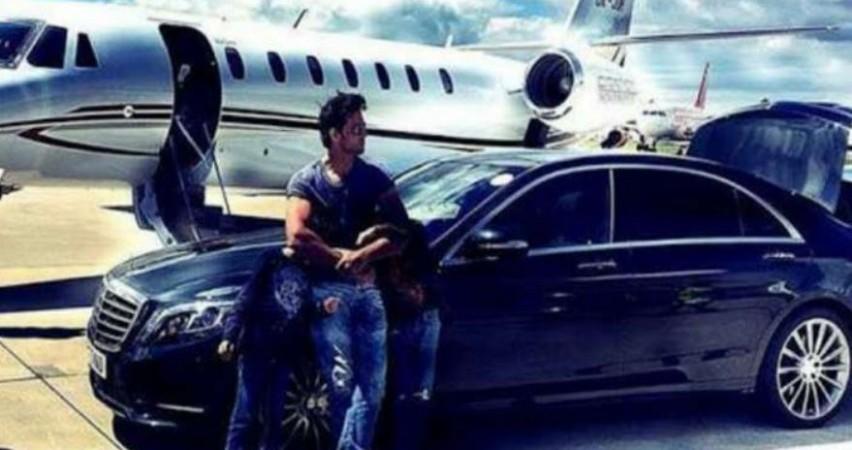 Hrithik Roshan's private jet