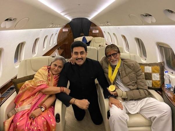 Amitabh Bachchan's private jet