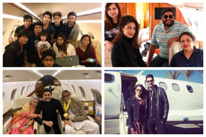 Bollywood stars private jets