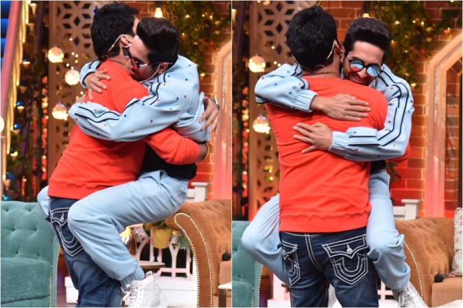 Ayushmann Khurrana and Kapil Sharma
