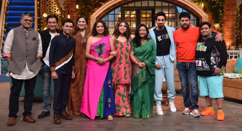 Ayushmann Khurrana on The Kapil Sharma Show