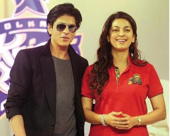 Shah Rukh Khan, Juhi Chawla