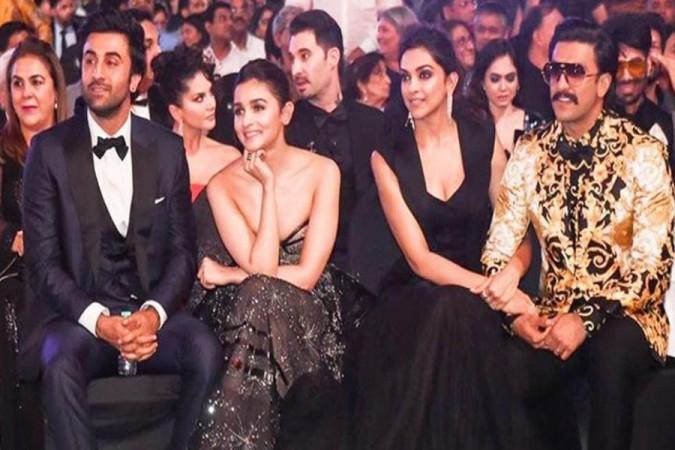 Ranbir Kapoor, Alia Bhatt, Ranveer Singh and Deepika Padukone
