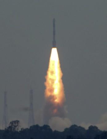 ISRO successfully launch three satellites (PHOTOS)