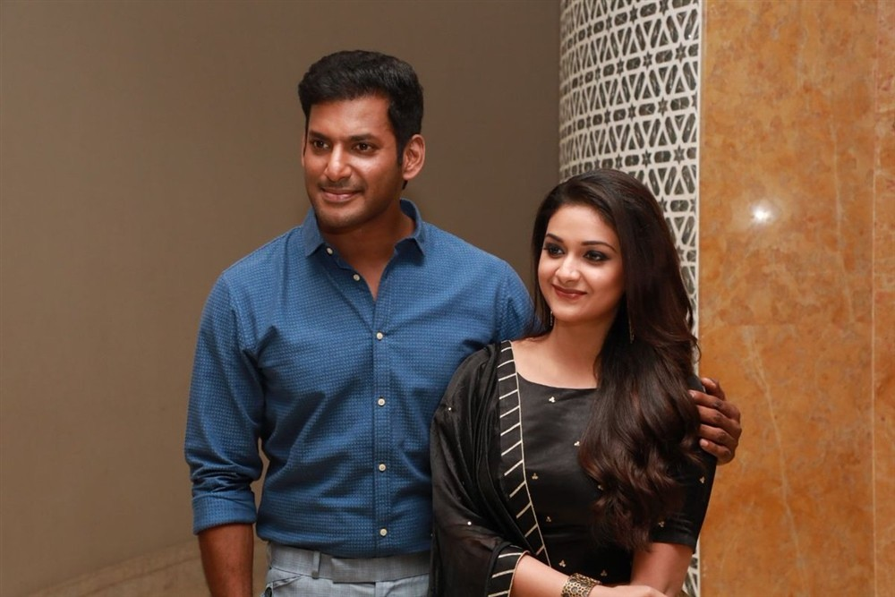 Vishal,Keerthy Suresh,N. Lingusamy,Rajkiran,Praveen KL,Sandakozhi 2,Sandakozhi 2 songs,Sandakozhi 2 music,Sandakozhi 2 press meet,Sandakozhi 2 press meet pics,Sandakozhi 2 press meet images,Sandakozhi 2 press meet stills,Sandakozhi 2 press meet pictures,S