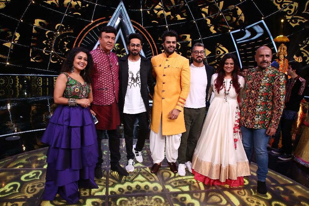 Navratri special episode,Richa Sharma,Ayushmann Khurrana,Amit Sharma,Indian Idol 10
