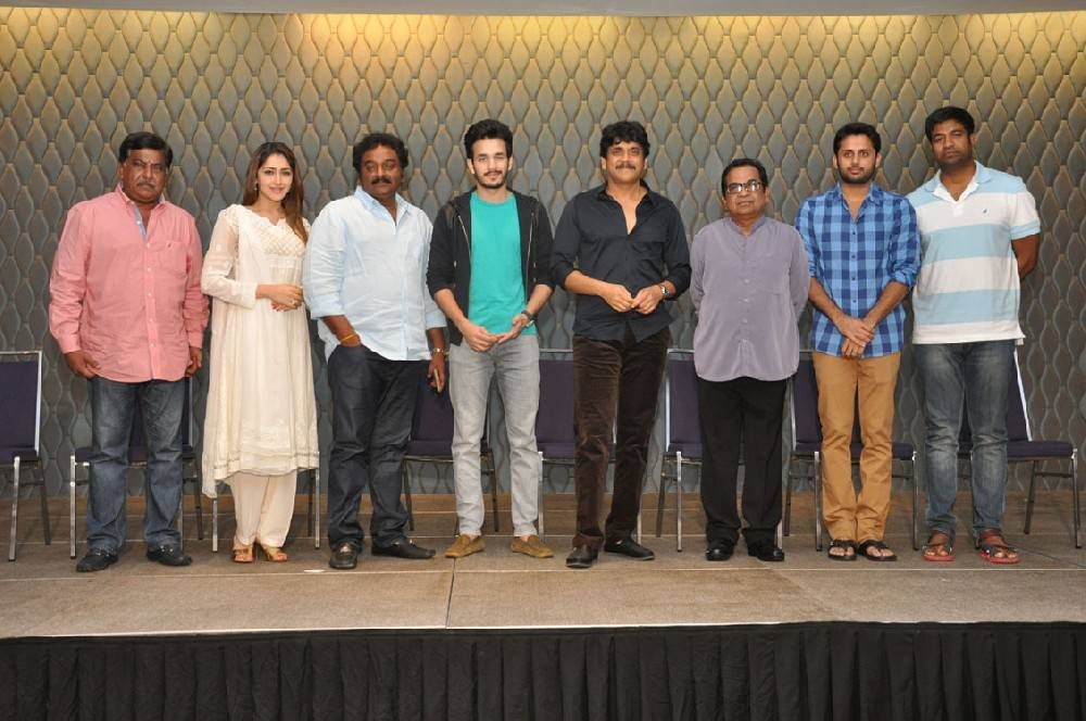 Akhil Movie Success Meet,Akhil Success Meet,Akkineni Nagarjuna,Akhil Akkineni,Nithin Reddy,Sayesha Saigal,VV Vinayak,Brahmanandam,Vennela Kishore,Sudhakar Reddy,Akhil Movie Success Meet pics,Akhil Movie Success Meet images,Akhil Movie Success Meet photos