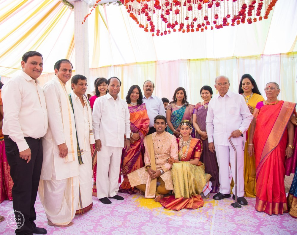 Lahari Music Manohar Naidu Son wedding,Chandru Manoharan wedding,Chandru Manoharan marriage,Allu Aravind,MM Keeravani,Gopichand,Gopichand Achanta