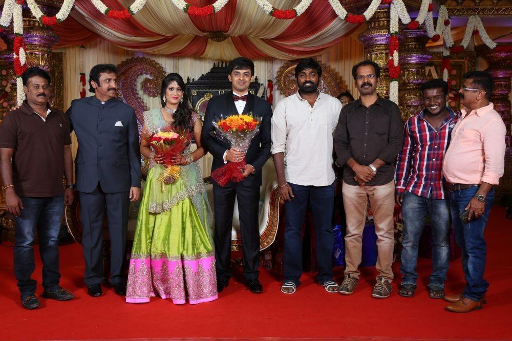 Vishal, Jayam Ravi, Vijay Sethupathi, Udhayanidhi Stalin, Atharvaa and many others celebs at Raviprasad's Grand Daughter Wedding.