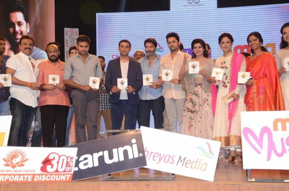 A..Aa,A..Aa audio launch,Anasuya Ramalingam vs Anand Vihari,Nithin,Samantha,Pawan Kalyan,A..Aa audio launch pics,A..Aa audio launch images,A..Aa audio launch pictures,A..Aa audio launch photos,A..Aa audio launch stills