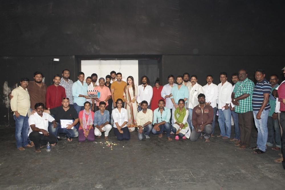 Jayam Ravi and Director Vijay,Jayam Ravi,Director Vijay,Vijay,AL Vijay,AL Azhagappan,Mohan Raja,Sayesha Saigal,Dhananjayan,Thambi Ramaiah,Stunt Choreographer Silva,Production Designer Jayashree,Aarthi Ravi