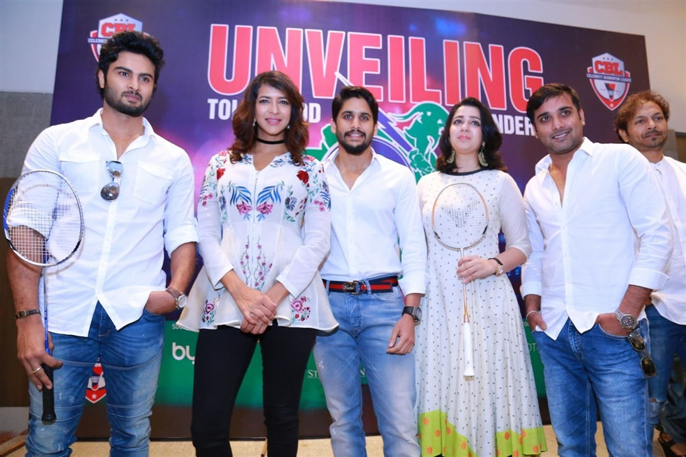 Tollywood Thunder Franchise Launch,Tollywood Thunder Franchise,Naga Chaitanya,Charmi,Lakshmi Manchu,Sudheer Babu,Seerat Kapoor,Tarun,Tejaswini Madivada,Sanjana Galrani,Nandini Vijay,Apoorva Srinivasan,Tollywood Thunder Franchise Launch pics,Tollywood Thun