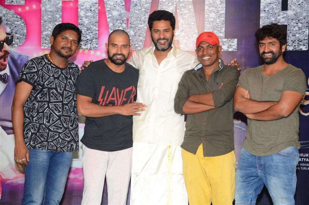 Telugu movie Abhinetri Success Meet event held at Hyderabad. Celebs like Prabhu Deva, Director AL Vijay, Kona Venkat, Hema, Raja Ravindra, Saptagiri, Shekhar, Suresh Kondeti, Dinesh Prabhu, Johnny and others graced the event.
