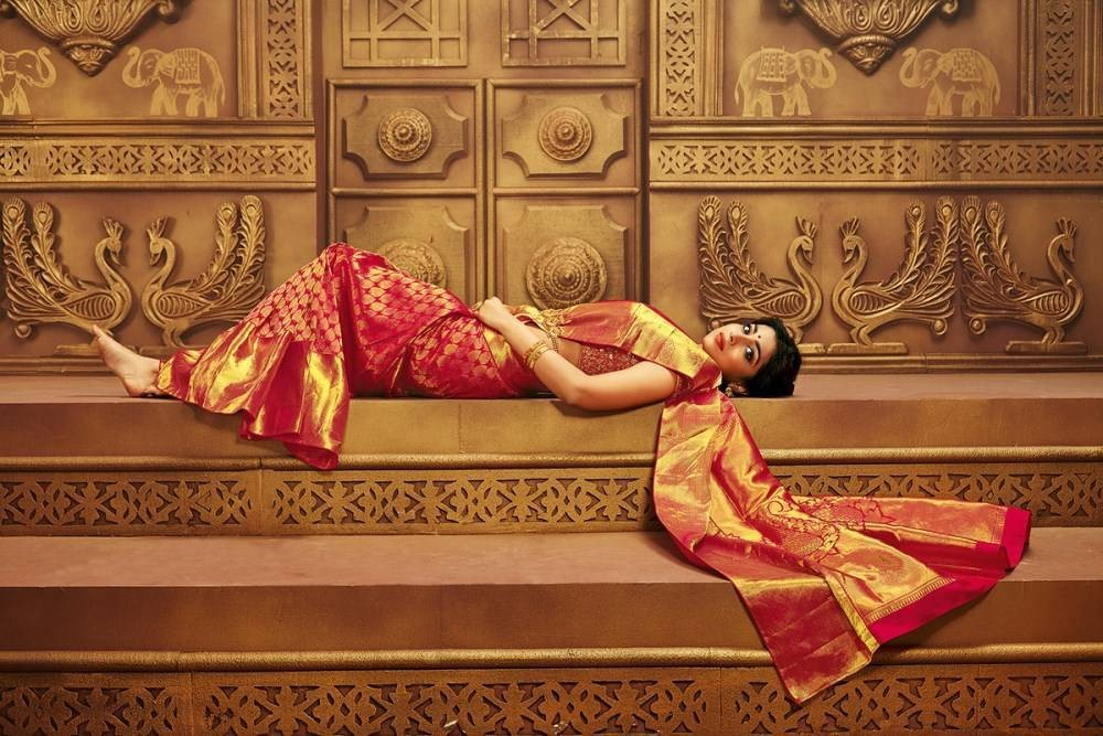 South Indian Actress Shriya Saran Photoshoot for CMR Shopping Mall.