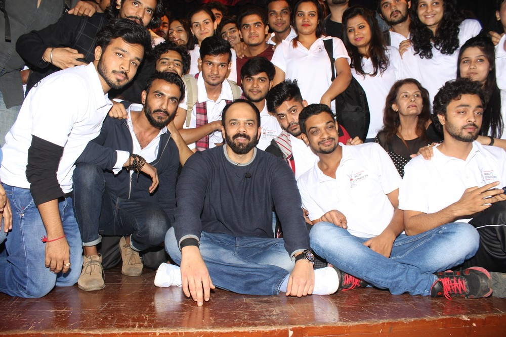 Rohit Shetty,Sudhir Mishra,Rohit Shetty at 9th Master Class organised by IFTDA,9th Master Class organised by IFTDA,IFTDA,Indian Film and Television Directors