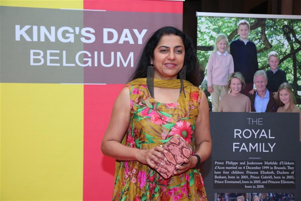 King's Day of Belgium Chennai event,King's Day of Belgium Chennai,Suhasini Maniratnam,Shemain Thaku,Dr. Bart De Groof,Kathlijn Fruithof,Margot Prie,Satish,Swathi Balasubramanian,Seiji Baba,Satish Jupiter,Naresh Mehta