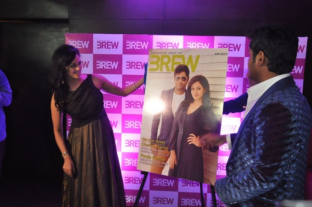 Pooja Kumar Launches BREW Magazine,BREW Magazine,Pooja Kumar,actress Pooja Kumar,Pooja Kumar latest pics,Pooja Kumar latest photos,Charles Martin