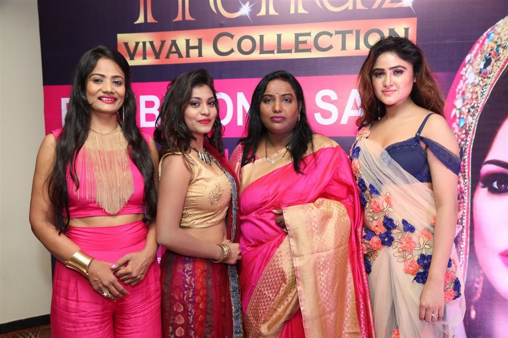 Priyanka Augustin,Sony Charishta,Trendz Vivah Expo launch,Trendz Vivah Expo,Trendz Vivah Collection Exhibition