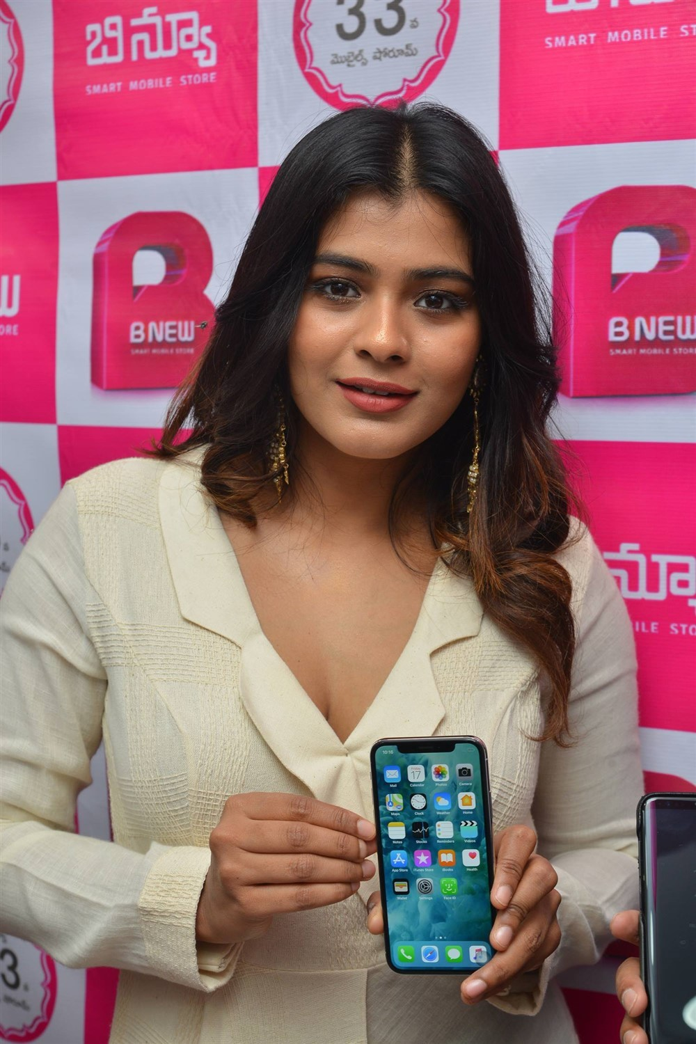 Hebah Patel,actress Hebah Patel,B New Mobile Store,Hebah Patel at B New Mobile Store,B New Mobile Store launch