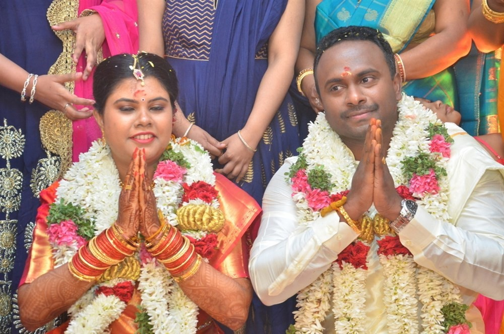 Sathyaraj,Goundamani,P Vasu,K Rajan,TG Thyagarajan,Kalaipuli S Thanu,R. Sundarrajan,Keyaar,M Ramanathan daughter wedding reception
