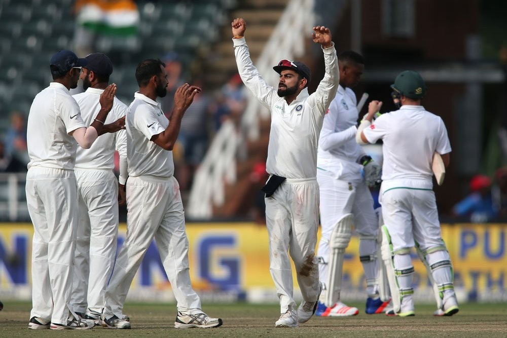 India beat South Africa,India trash South Africa,India vs South Africa,india vs south africa 3rd test 2018,Virat Kohli