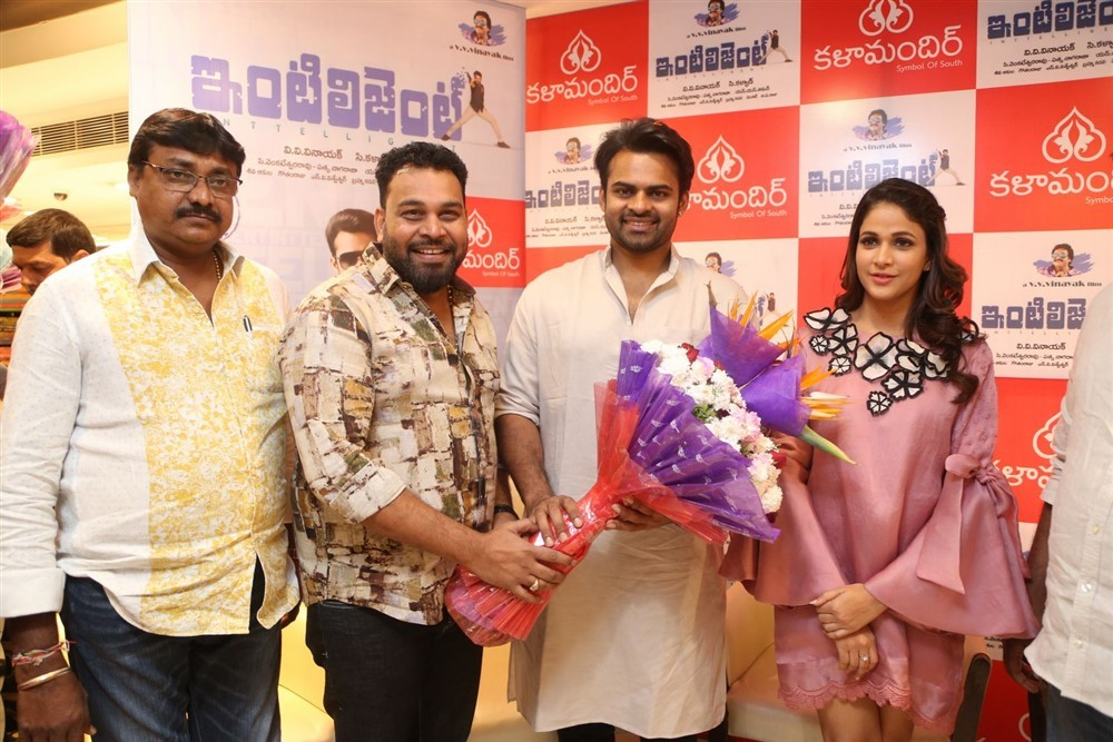 Sai Dharam Tej,Lavanya Tripathi,VV Vinayak,Inttelligent,Inttelligent songs,Inttelligent movie songs,Kala Kala Kalamandir song launch,Kala Kala Kalamandir song,Kala Kala Kalamandir song launch pics,Kala Kala Kalamandir song launch images,Kala Kala Kalamand