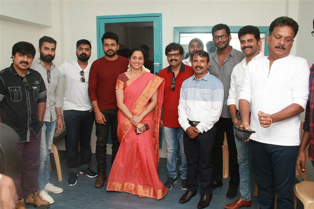 Vishal,Karthi,Simbu,Devayani,Vivek,Nandha,Udhaya,Azhagam Perumal,Ezhumin Trailer,Ezhumin Trailer Launch,Ezhumin Trailer Launch pics,Ezhumin Trailer Launch images,Ezhumin Trailer Launch stills,Ezhumin Trailer Launch pictures
