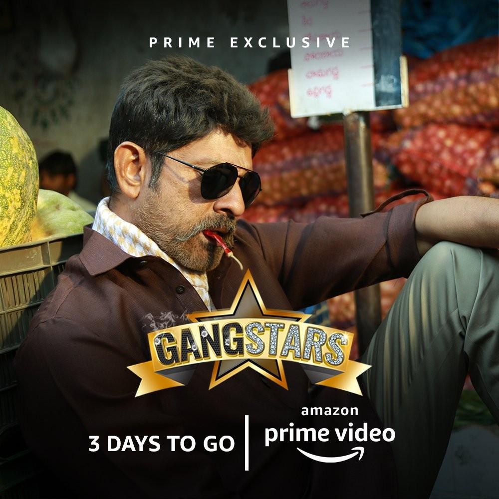 Amazon Prime Video,GangStars,Navdeep,Shweta Basu Prasad,Sidhu Jonnalagadda,Apoorva Arora,Posani Krishna Murali,Jagapati Babu