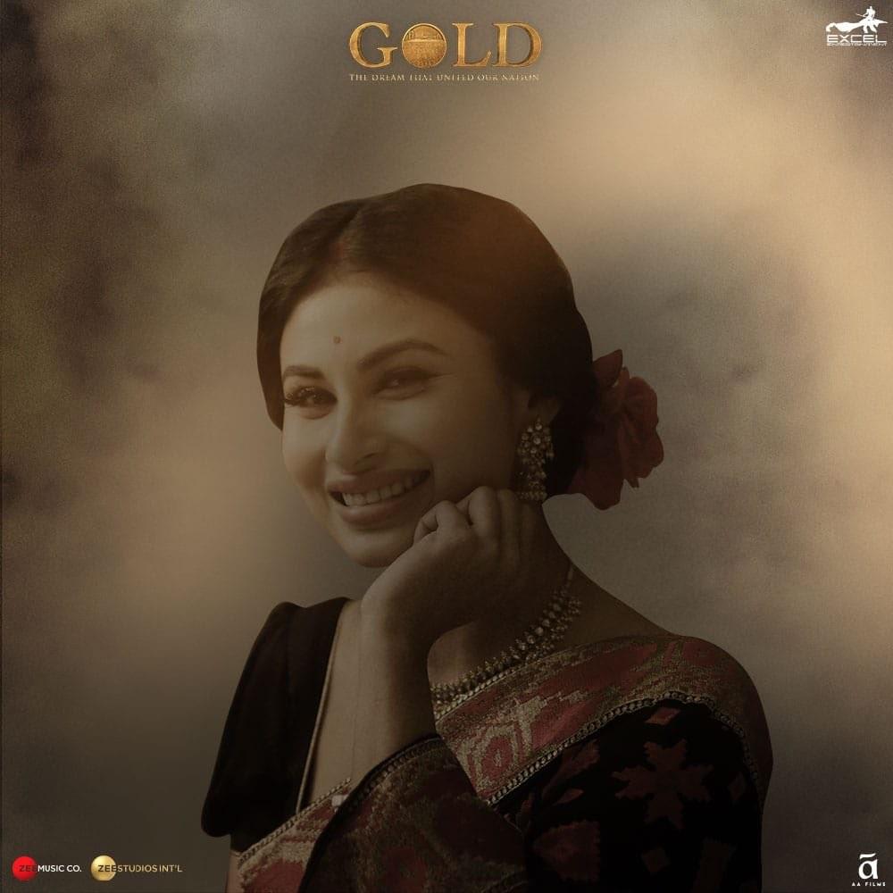Akshay Kumar,Akshay Kumar introduces Mouni Roy,Gold,Gold poster,Gold Akshay Kumar,Akshay Kumar gold,Gold movie team