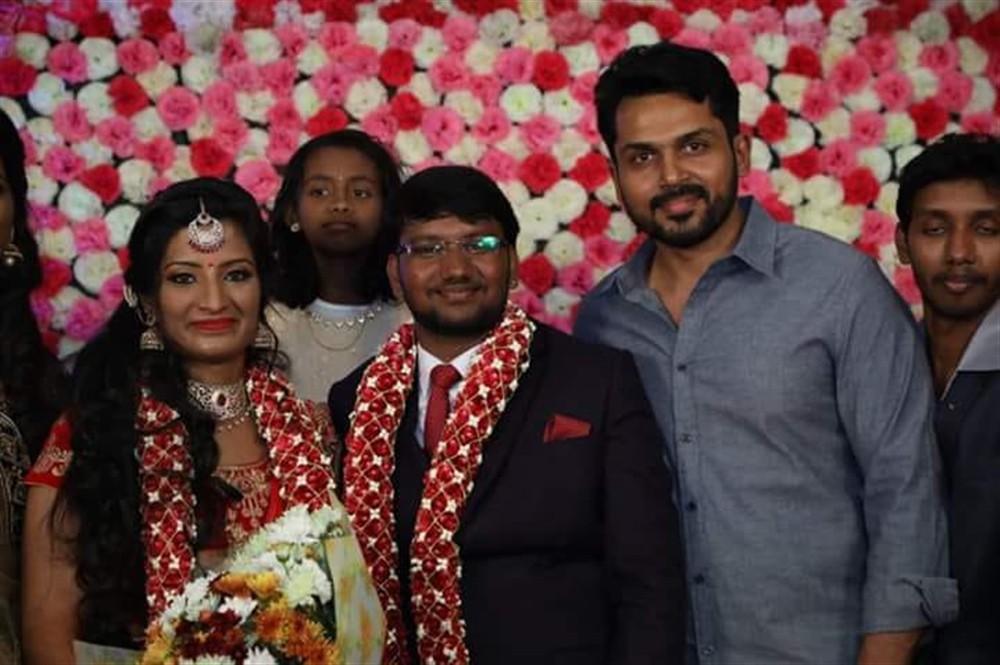 Sivakarthikeyan,Karthi,K Bhagyaraj,Poovai Mani,Poovai Mani wedding reception,Arya