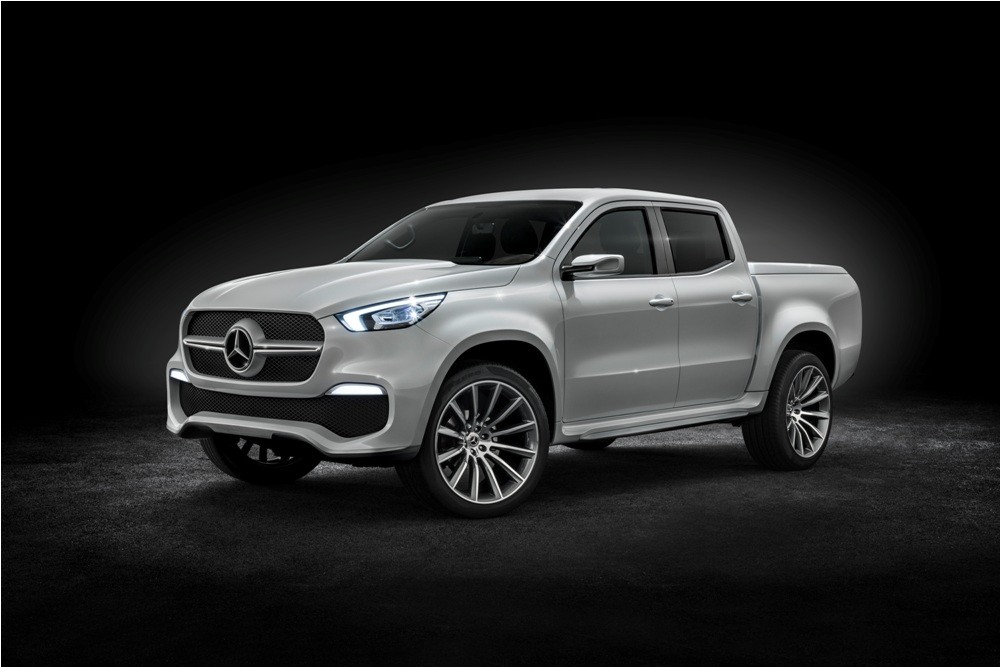 Mercedes-Benz X-Class pickup concept- stylish explorer