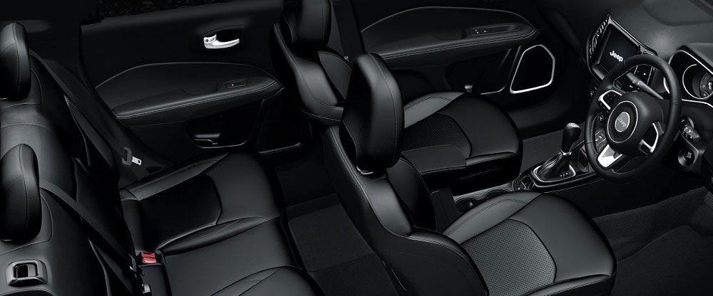 Jeep Compass Black Pack interior