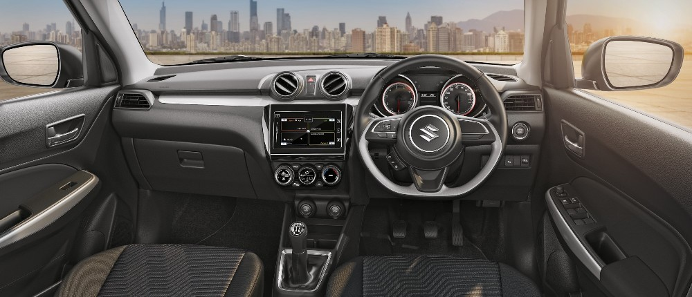 New Maruti Suzuki Swift dashboard