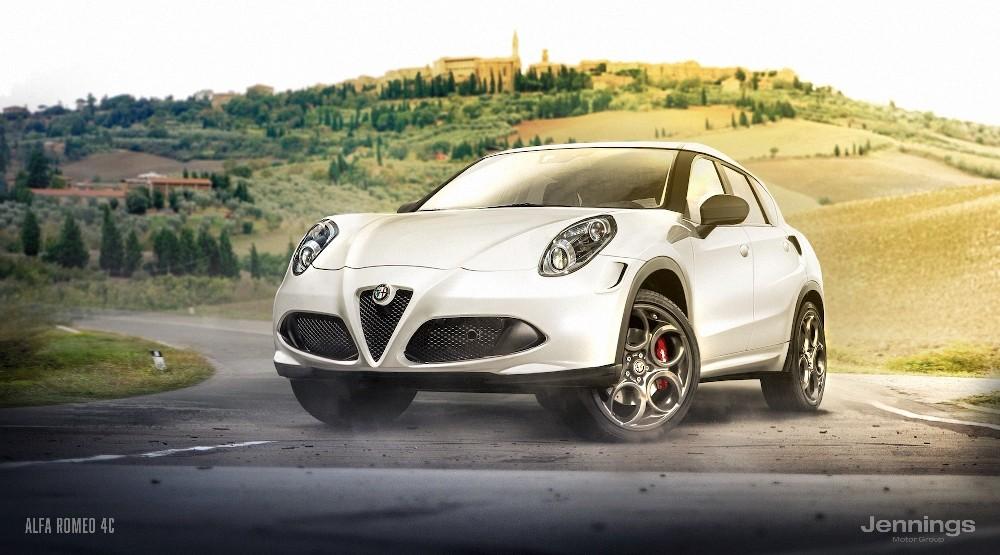 Alfa Romeo 4C SUV Concept
